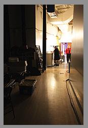 RAW capture of DEJA backstage