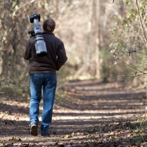 Scouting for pictures on the banks of the James River in Richmond. Click for large image.